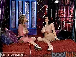 Big Tits Lesbian MILF Pleasure