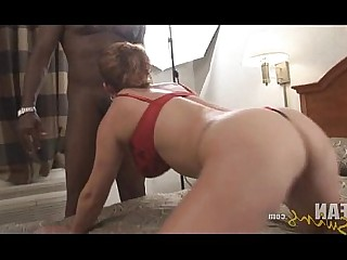 Black Cougar MILF Creampie Wife Interracial Innocent Big Cock