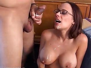 Boobs Brunette Cumshot Hardcore Hot Juicy Mammy Mature
