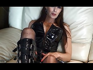 Dildo Facials Fetish Hot Latex MILF Strapon