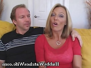 Blonde Cougar Cumshot Hot Mammy MILF Nasty Old and Young