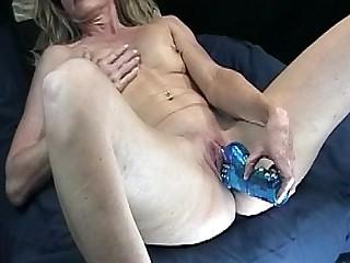 Cougar Cumshot Kitchen Masturbation MILF Orgasm Pussy