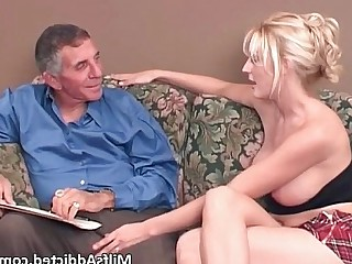 Big Tits Blonde Hardcore Horny Mammy MILF Whore