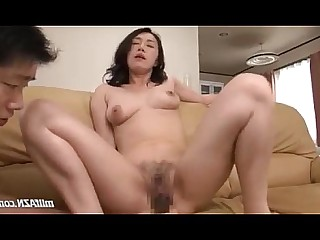 Fingering Fuck Hairy Licking Mammy MILF Nylon Panties
