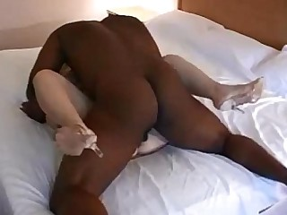 Homemade Mammy Wife MILF Creampie Big Cock Blonde Black