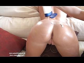 Blonde Brunette Couch Juicy MILF