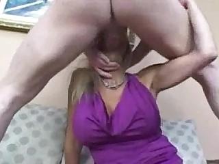 Blonde Creampie MILF