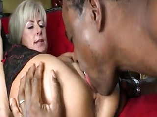 Stocking Pussy MILF Mature Licking Fuck Doggy Style Big Cock