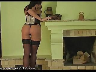 Babe Blonde Brunette Cougar Masturbation MILF Solo