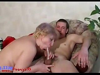 Old and Young Teen Cougar Fuck Mammy MILF