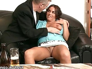 Bus Busty Fisting Fuck Gorgeous MILF Pussy Wet