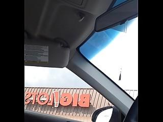 Solo Car MILF Public