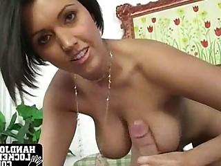 Big Tits Handjob Hot MILF Pornstar