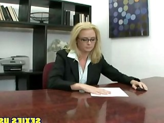 Office MILF Big Tits Pussy Ass