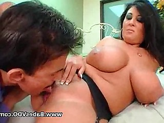 Huge Cock Big Cock Brunette Black MILF Ride