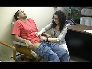 Ass Boss Cumshot Glasses Handjob Hot Masturbation MILF