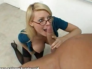 Blowjob Teacher Blonde Stocking Big Tits Schoolgirl Dolly Ass