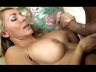 Licking Mammy Boobs Huge Cock Big Tits MILF Mature Big Cock
