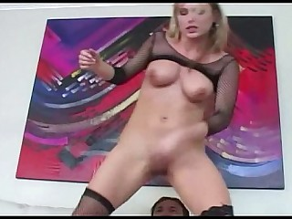 Oral Blonde Creampie Cumshot Fuck Glasses Stocking MILF